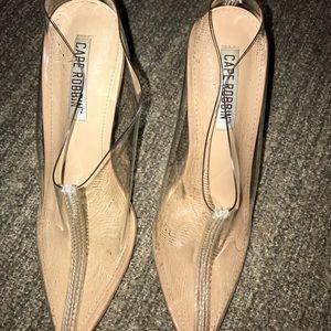 Cape Robbin Shoes - Cape Robbin clear Mules 36